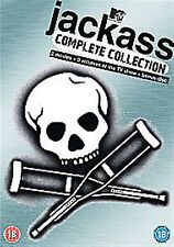 Jackass (2007) The Complete Collection VOLUME 1 2 3 NEW SEALED UK R2 DVD