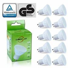 Lampaous 5w LED Gu10 Bulb Warm White Gu10 LED Lights 450lm Super Bright