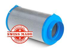 CarbonActive Granulate Filter 400m³ / 125mm Flansch Aktivkohlefilter AKF Grow