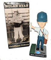 RARE 2010 Round Rock Express Nolan Ryan Childhood Tribute Bobblehead W/ DEFECT