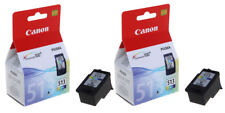 2x Original Canon CL513 Colour Ink Cartridges For PIXMA MP260 Inkjet Printer