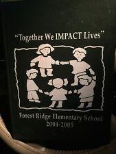 Forrest Ridge Elementary School Hernando FL Florida Yearbook 2004 - 2005