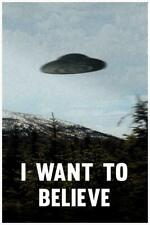 I Want To Believe TV Cool Wall Decor Art Print