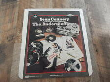 Vintage CED Videodisc1984 The Anderson Tapes-Sean Connery, Dyan Cannon-RARE!
