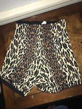 Rare Vtg Vanity Fair Leopard Panty Girdle W/stocking Clips Sz M Excellent Cond
