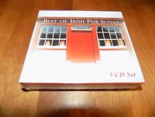 BEST OF IRISH PUB SONGS Party History Music Song 3 DISC CD CDs CD's SET RARE NEW