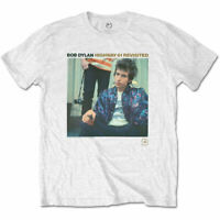 BOB DYLAN Highway 61 Revisited White Mens T Shirt Unisex Tee Official Band Merch