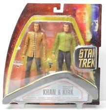 Star Trek TOS Kirk Khan Space Seed 2 pack Action Figure Art Asylum NIP