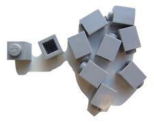 10 x Lego Grey square bricks (size 1x1x1) – 4211389 (Parts & Pieces)