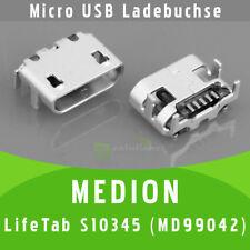 ✅ Medion LifeTab S10345 MD 99042 Micro USB DC Buchse Ladebuchse Port Connector