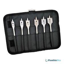 Bosch 2608587793 Selfcut Spade Flat Wood Drill Bit Wallet Set of Six 13mm - 25mm