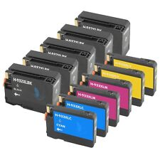 11 PACK 932XL 933 XL Ink Cartridge for HP Officejet 6100 6700 6600 7100 New Chip