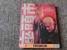 ZATOICHI THE BLIND SWORDSMAN Limited Blu-Ray Steelbook - UK NEW MINT SEALED OOP