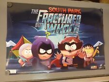 South Park The Fractured But Whole 24 x 36 Double Sided Poster Video Game