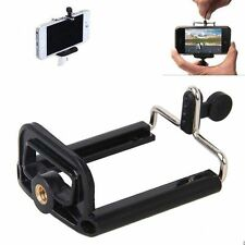 Camera Stand Clip Bracket Holder Monopod Tripod Mount Adapter for phones YA