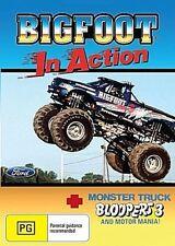 BIGFOOT IN ACTION  The Original Monster Truck  ALL REGION DVD