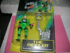 1995 RIDDLER TRAPPING BRAIN-BATMAN FOREVER-DRAIN HELMET-DC COMICS-KENNER NIP