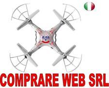 DRONE QUADRICOTTERO K300 2,4GHZ CON TELECAMERA FOTO VIDEO 360° CW213