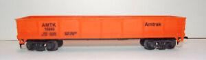 Life-Like AMTRAK Gondola AMTK 13240 | Orange | HO Scale