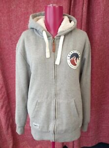 BRAKEBURN OF DORSET MENS WARM AND COSY HOODIE JUMPER VERY GOOD CONDITION SIZE...