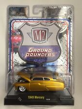 M2 Machines Ground Pounders '49 1949 Mercury Gold Die-cast 1/64 Scale Release 11