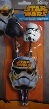 Star Wars 3D Lápiz & Goma de borrar (Goma) Topper Darth Vader & Storm Trooper