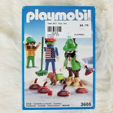 *NEW IN BOX* SEALED Vintage Playmobil Curling Match 3686 NISB Winter Time