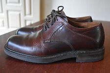JOHNSTON & MURPHY Passport Leather Lace-up Shoes Brown 8 M Italy