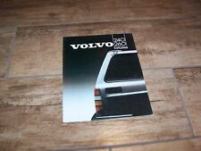 Catalogue / Brochure VOLVO 240 & 260 Estates 1983 //