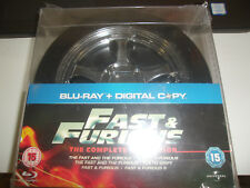 Fast & Furious: 1-5 Blu Ray Tire Region Free movie pack New Sealed OOP