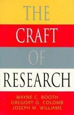 The Craft of Research (Chicago Guides to Writing