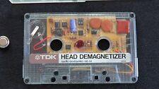 TDK Cassette Tape Recorder Player Deck HEAD DEMAGNETIZER HD-01 Made in Japan