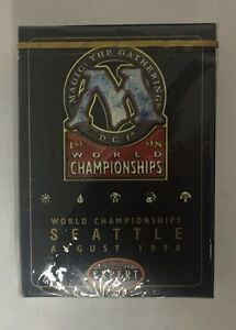 1998 Magic MTG World Championship Deck Randy Buehler Edition Factory Sealed