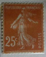 France 1906-37 Stamp 25c MNH Stamp StampBook1-42