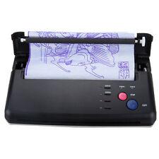 Pro Black Tattoo Transfer Copier Printer Machine Thermal Stencil Paper Maker US!