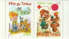 FETE DU TIMBRE 2002..BOULE & BILL....LA PAIRE....YT 3467a....NEUF.........2002