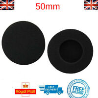 x2 Replacement Foam Ear Pads for Sennheiser Headphones PX100 PX80 PC130 PC131