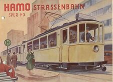 catalogo HAMO 1956 STRASSENBAHN Spur HO Sommer         D     aa