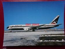 POSTCARD DELTA BOEING 767-232 AEROPLANE