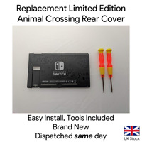 Animal Crossing Replacement Rear Cover Shell Housing for Nintendo Switch