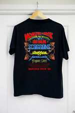 Vintage Rare 1988 Monsters of Rock tour concert T-Shirt Limited New Popular