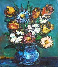 Maurice VERDIER (1919-2003) HsT Années 50' 60' Jeune peinture Ne Ecole de Paris