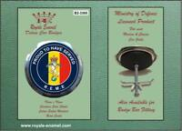 Royale Military Car Grill Badge & Fittings PROUD TO HAVE SERVED REME B2.3365