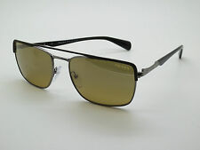 NEW Authentic PRADA SPR 50Q LAH-2C2 Gunmetal/Black 58mm Sunglasses