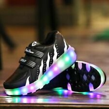 Size 27-40 Kids Led Shoes Luminous Sneakers For Boys Glowing Sneakers