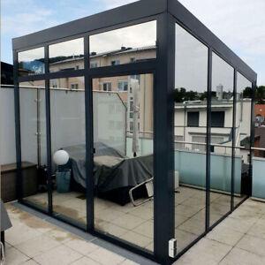 Spiegelfolie 7,2€/m² ALU 80C Silber Sonnenschutzfolie Spionfolie Innen Folie