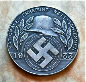 WW2 GERMAN COLLECTORS COIN 1933 ADOLF HITLER REICHSMARK
