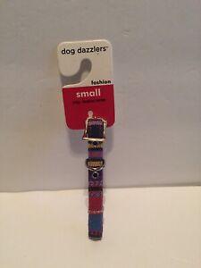 New Small Dog Dazzlers Fashion Dog Collar Chihuahua Mini dogs.