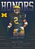 Charles Woodson - 2015 Panini Michigan Collegiate Sammelkarte , Honors