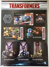 Hasbro Transformers Moive 5 The Last Knight Card Stickers New